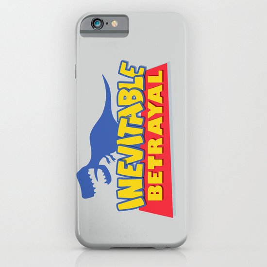 Inevitable Betrayal iPhone & iPod Case