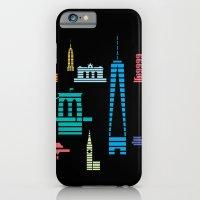 New York Skyline Black iPhone 6 Slim Case