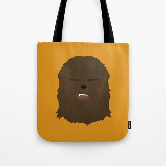 Star Wars Minimalism - Chewbacca Tote Bag