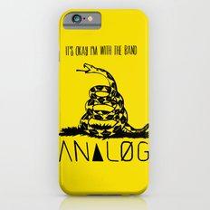 Snake and Band (Analog Zine) iPhone 6 Slim Case