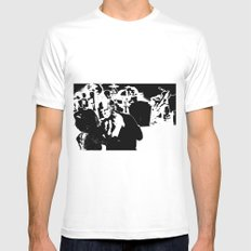 Cotton Club Smooch SMALL White Mens Fitted Tee
