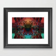 The Lake Of Pure Mind Framed Art Print