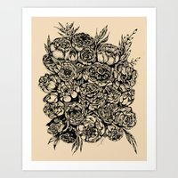 Wedding Flowers  Art Print