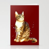 Here Kitty Cosmic Kitty Stationery Cards
