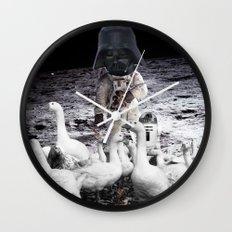 Goat Peter´s Return Wall Clock