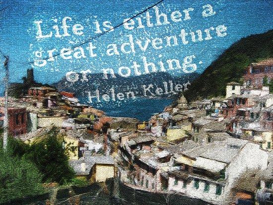 """""""Life is a Great Adventure."""" Canvas Print"""