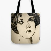1922 Lila Lee Portrait Tote Bag