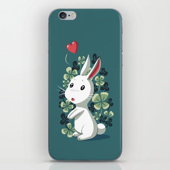 Clover Bunny iPhone & iPod Skin