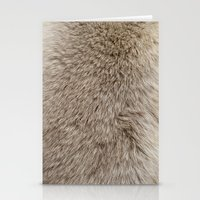 Ferret Texture Stationery Cards