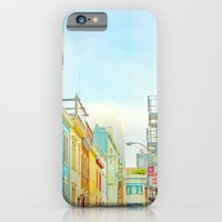 iPhone & iPod Case featuring SF Tops 1 by Mina Teslaru