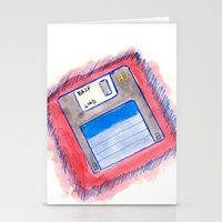 Disk Stationery Cards