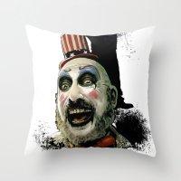 Captain Spaulding: Monst… Throw Pillow