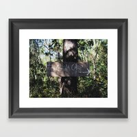 China Camp Framed Art Print