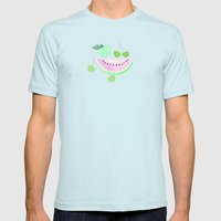 Fruit Punch Retro 2 Mens Fitted Tee Light Blue SMALL