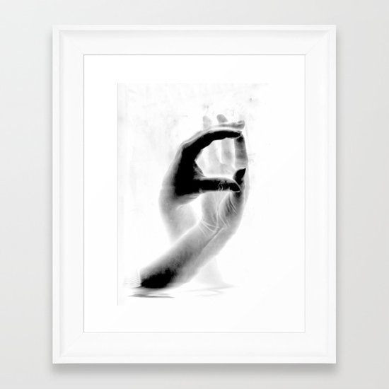 Fingers #2 Framed Art Print