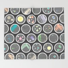 Petri Dish Throw Blanket