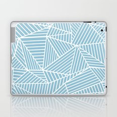 Ab Lines Sky Blue Laptop & iPad Skin