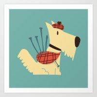 Scottish  Terrier - My P… Art Print