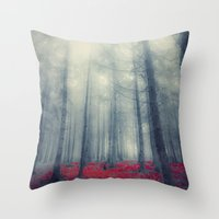 Black Forest Throw Pillow