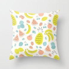 Fruity Throw Pillow