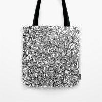 Squigg Block Tote Bag