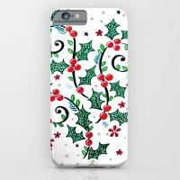 Christmas Curls iPhone 6 Slim Case