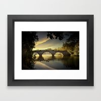 Bridge of Dreams Framed Art Print
