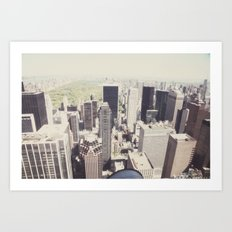 the view::nyc Art Print