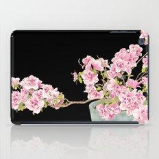 Heavenly Blossom on Black iPad Case