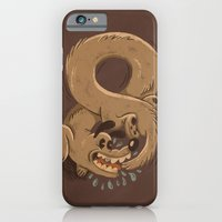 iPhone & iPod Case featuring Chase Your Tail Forever by WanderingBert / David Creighton-Pester