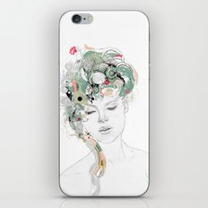 Beauty waiting iPhone & iPod Skin