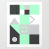 Geometrie Art Print