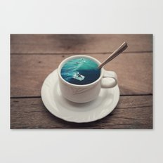 Surf's Cup Canvas Print