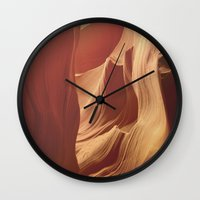 Antelope Canyon 2 Wall Clock
