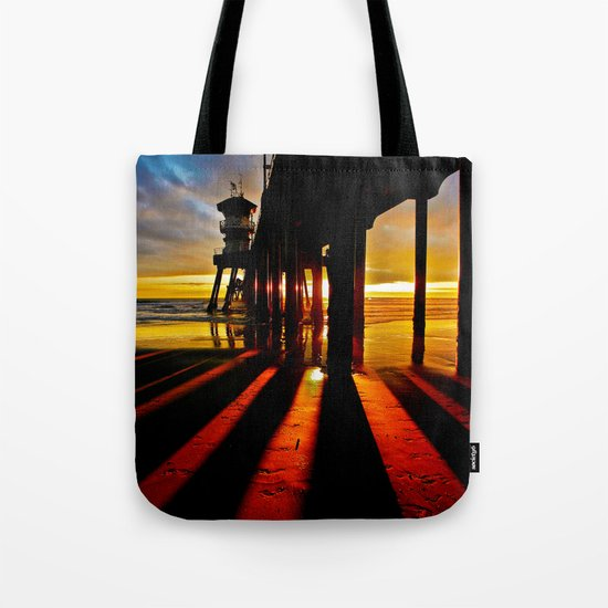 Surf City Sunsets   Tote Bag