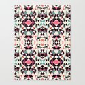 Retro Light Tribal Canvas Print