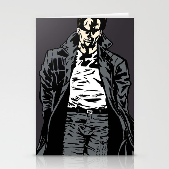 Brooding Stationery Card