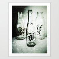 Bottles No.1 Art Print