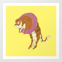 Phat Tigre Art Print