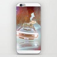 Flyin' Car II iPhone & iPod Skin