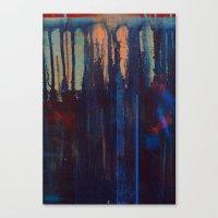 lust indigo Canvas Print