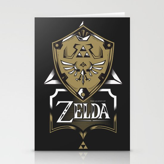 Zelda v89 Stationery Card