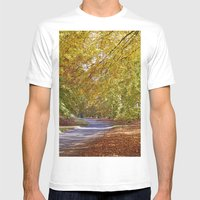 Remote Country Road Thro… Mens Fitted Tee White SMALL