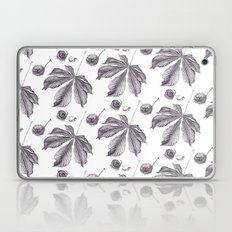 Floral pattern horse-chestnut Laptop & iPad Skin