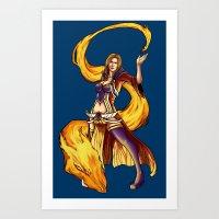 Royal Mage Art Print