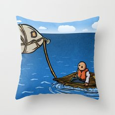 Alternative Travel Throw Pillow