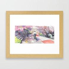 Bicycle Boy 01 Framed Art Print