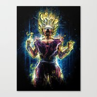 Emotional Fighter Level … Canvas Print