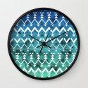Triangle Tribal Wall Clock