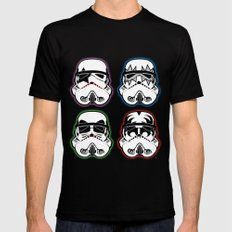 Kiss Troopers Mens Fitted Tee SMALL Black